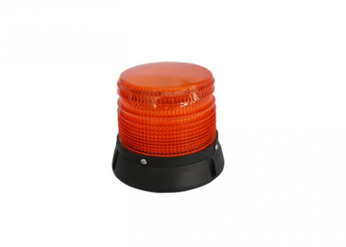 Magnetic Warning LED Beacon Light 48w Weatherproof For Emergency Vehicle