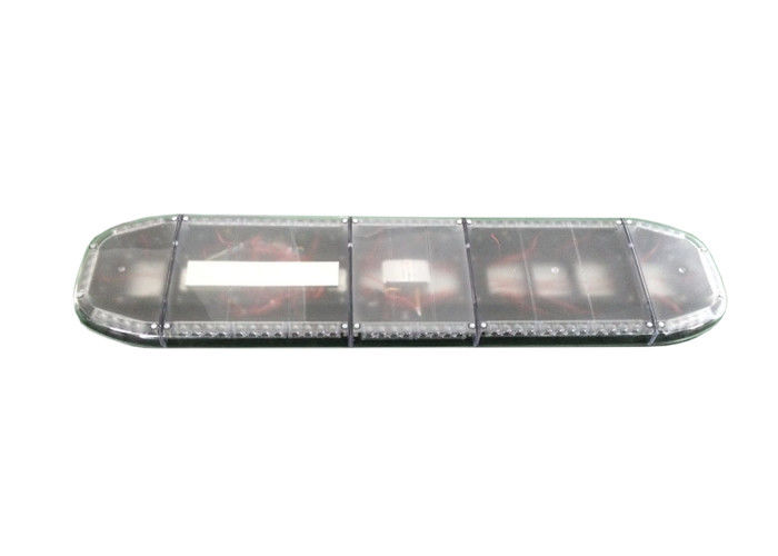 Full Size Led Light Bars For Emergency Vehicles , Amber Blue Warning Light Bar