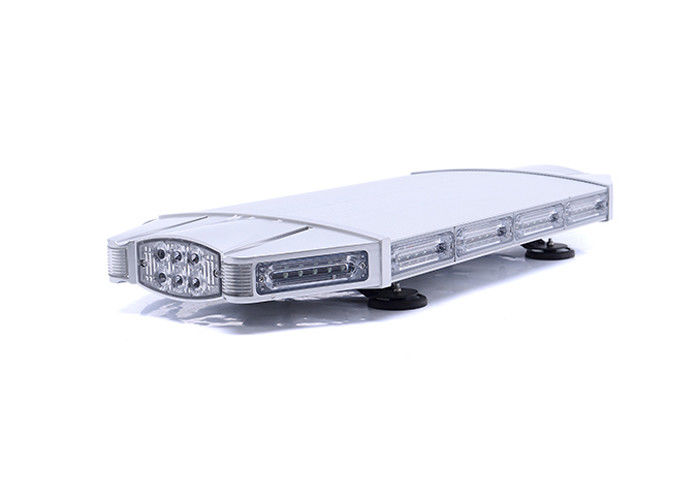Emergency Police Car Strobe Light Bar , Magnetic Flashing LED Warning Lights