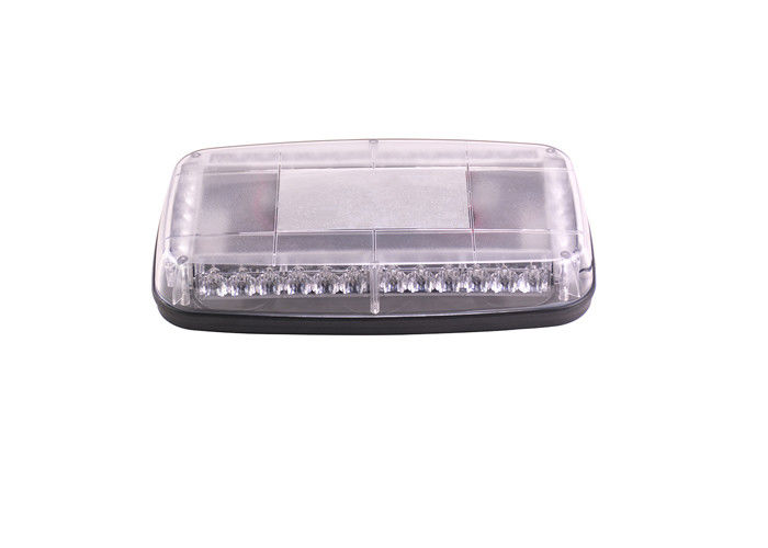 Professional LED Amber Flashing Light Bar , Emergency Mini Strobe Light Bar