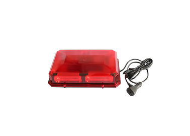 China Red Strobe Warning Mini Amber LED Light Bar For Ambulance / Fire Vehicles factory
